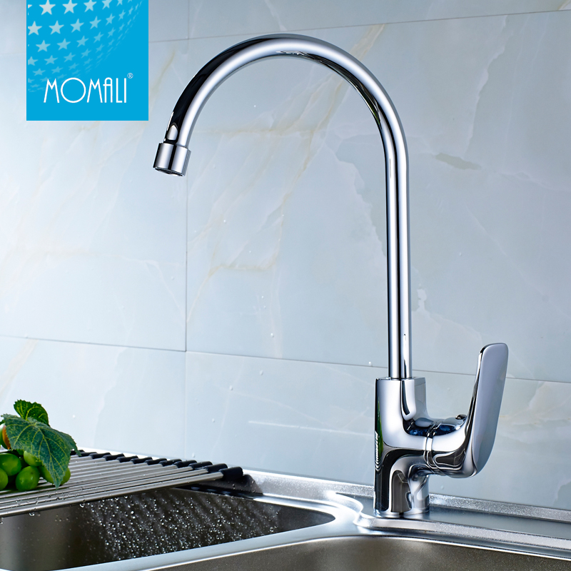 New Pull Down Kitchen Single Handle Sink Tap Faucet