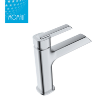Factory supply wall mounted chrome plated basin faucet