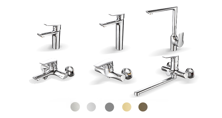 Hot And Cold Single Lever Brass Antique Wash Basin Faucet