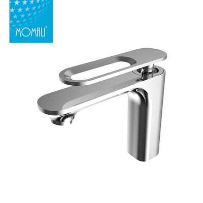 China faucet factory bathroom brass chrome hot cold water basin faucet