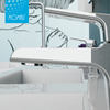 Hot sell high performance brass material durable wash basin hot cold water tap