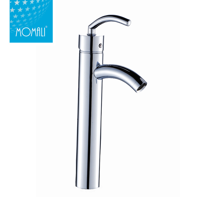 New Modern Bathroom Wash Dual Hole Single Handle Basin Faucet