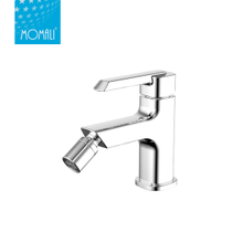 China manufactured modern design single handle brass body water bidet faucet