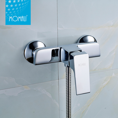 China wall mounted brass water tap bath mixer faucet for home and hotel
